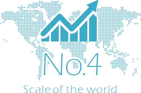 No4 scale of the world